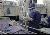 وقتی بیماران و مدافعان سلامت چشم به آسمان دارند؛ احیای دومین شب قدر در بخش کرونا بیمارستانهای سمنان از دریچه دوربین