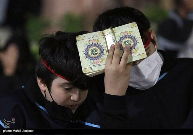 مراسم احیای شب بیست و یکم ماه مبارک رمضان در اصفهان به روایت تصویر