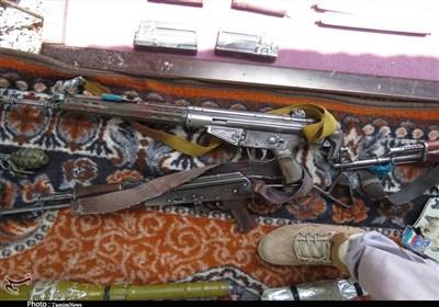 تصاویر اختصاصی تسنیم از انهدام یک تیم تروریستی در جنوبشرق کشور