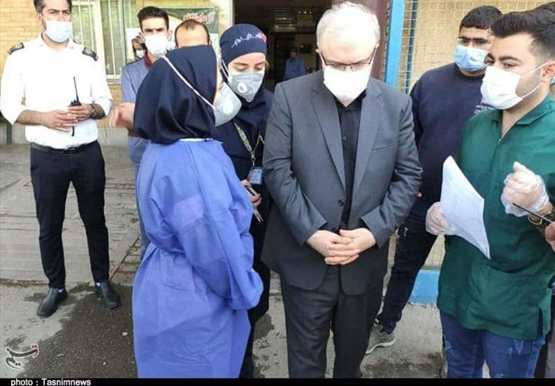 وزیر بهداشت: عملکرد بیمارستان شهدای پاکدشت در پیک چهارم خوب است