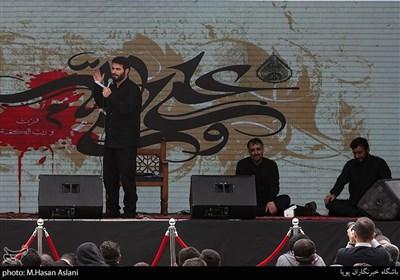 مداحی میثم مطیعی در عزاداری روز شهادت امیرالمومنین علی (ع)