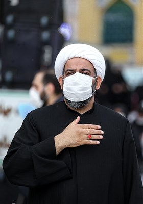 حجت الاسلام بی آزارتهرانی تولیت امامزاده صالح (ع) در اجتماع بزرگ روز شهادت امیرالمومنین علی (ع)