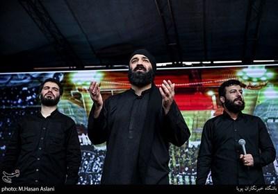 مداحی سیدامیر حسینی در عزاداری روز شهادت امیرالمومنین علی (ع)