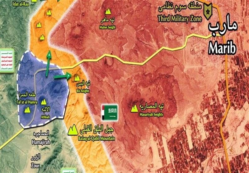 نبرد مأرب؛ ناکامی نیروهای «هادی» در باز پس گیری «الطلعه الحمراء»