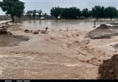 غرش سیل در شهرستانهای استان سمنان؛ چند بند خاکی در میامی تخریب شد