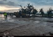 وقوع سیلاب بیسابقه در شهرستان آوج / 3 نفر کشته و 2 نفر مفقود شدهاند
