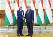 دیدار زلمی خلیلزاد با رئیسجمهور تاجیکستان