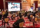 برگزاری همایش «مکتب حاج قاسم، مقاومت فلسطین، بیداری اسلامی» در بوشهر به روایت تصویر