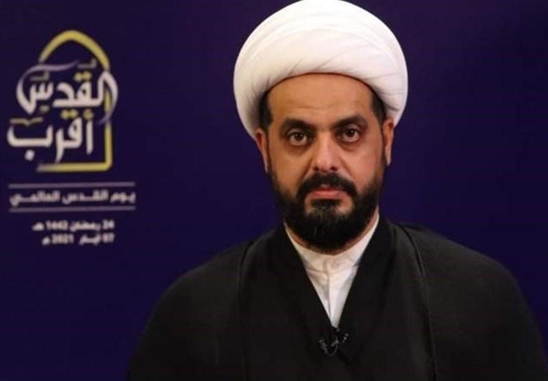 الشیخ الخزعلی : المقاومة تشهد التقدم وتحقیق النصر تلو الاخر