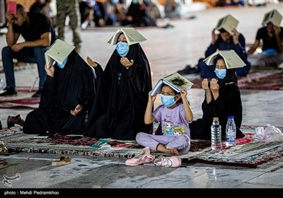 مراسم احیای شب بیست و سوم ماه رمضان در اهواز