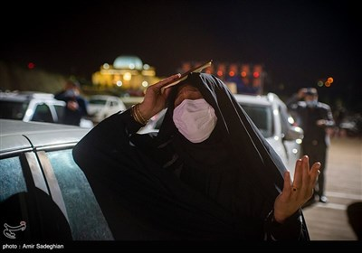 مراسم احیای شب بیست و سوم ماه رمضان در شیراز