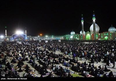 احیای شب بیست وسوم ماه رمضان در مسجد جمکران