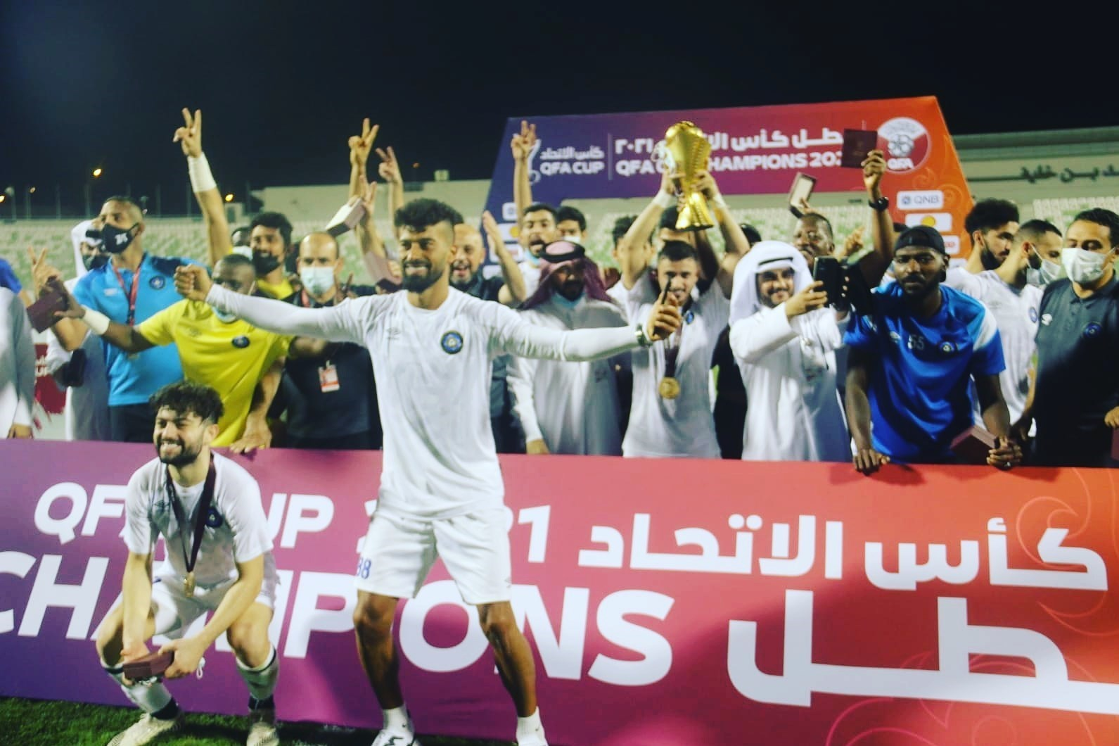 قهرمانی تیم رضاییان در جام حذفی قطر