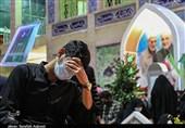 شبزنده داری در جوار مرقد حاج قاسم و دیگر شهدای کرمان به روایت تصویر