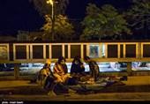 آیین احیای شب بیست و سوم در مزار شهدای قزوین به روایت تصویر