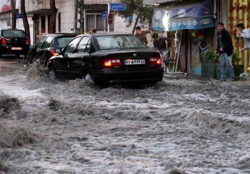 هواشناسی ایران 1400/02/17|باران و رعدوبرق 5 روزه در 25 استان/ هشدار تشدید فعالیت سامانه بارشی در 10 استان