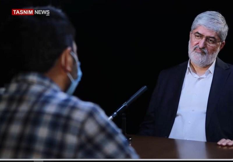 مصاحبه با علی مطهری درباره انتخابات 1400: شاید لاریجانی به نفع من کنار برود/ مسلمان هم نبودیم باید از لبنان و فلسطین حمایت میکردیم