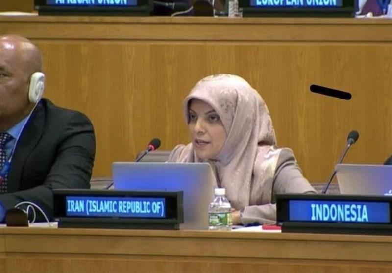 Iran UN Envoy Raps Detrimental Effects of Sanctions on Social Development