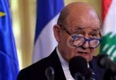 لبنان| دیدار وزیر خارجه فرانسه با میشل عون