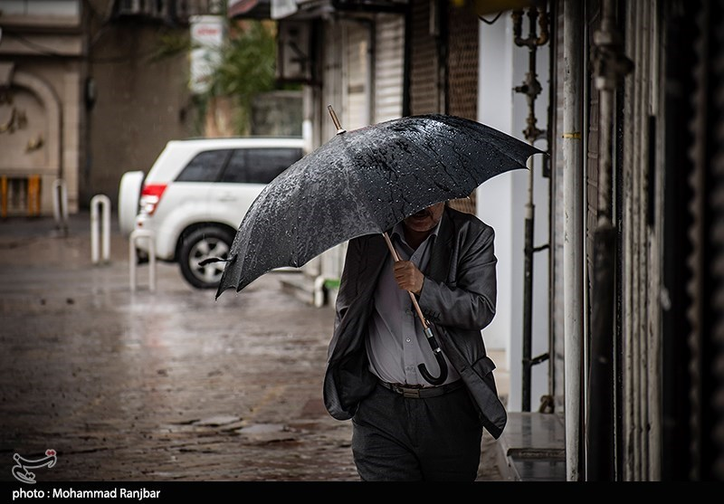 ورود سامانه جدید بارشی به استان فارس؛احتمال بارش تگرگ در مناطق جنوبی وجود دارد