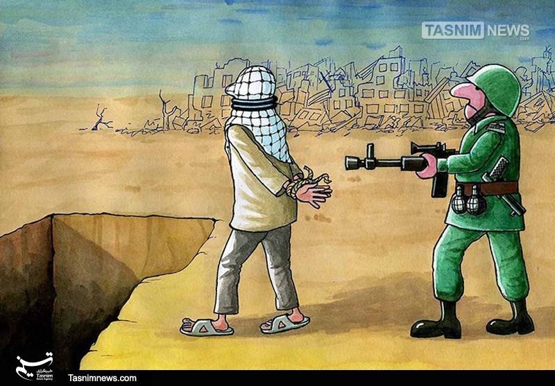کاریکاتور/ رژیم آدمکش صهیونیستی- گرافیک و کاریکاتور کاریکات ...