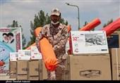 توزیع 100 سری جهیزیه سپاه ثارالله استان کرمان به مناسبت هفته بسیج سازندگی به روایت تصویر