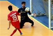 لیگ برتر فوتسال|کراپ الوند با گلباران فرشآرا یک پله صعود کرد