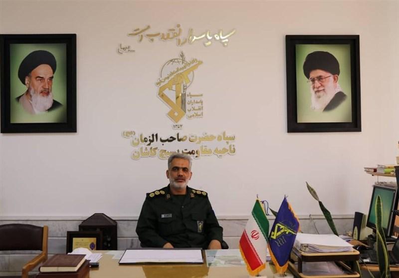 فرمانده سپاه کاشان: هر رأی نشان از تعیین سرنوشت آینده است + فیلم