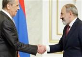 لاوروف در دیدار با پاشینیان: روسیه متعهد به تأمین امنیت ارمنستان است
