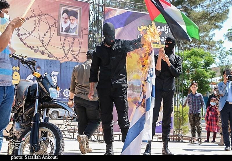 کشور فلسطین , استان کرمان , راهپیمایی روز قدس ,