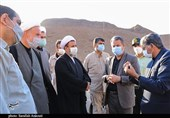 نماینده ولیفقیه در استان کرمان از منطقه سیلزده گلباف بازدید کرد+تصاویر