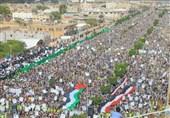 یمنیها در روز قدس برای فلسطین سنگ تمام گذاشتند