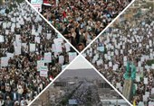 الیمن یحیی یوم القدس العالمی بمسیرات هی الأکبر عربیا وإسلامیا