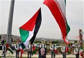 مراسم خودجوش روز قدس در زنجان به روایت تصویر