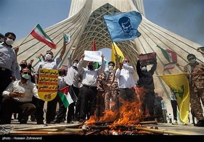 مراسم یوم القدس فی ساحة الحریة بالعاصمة طهران