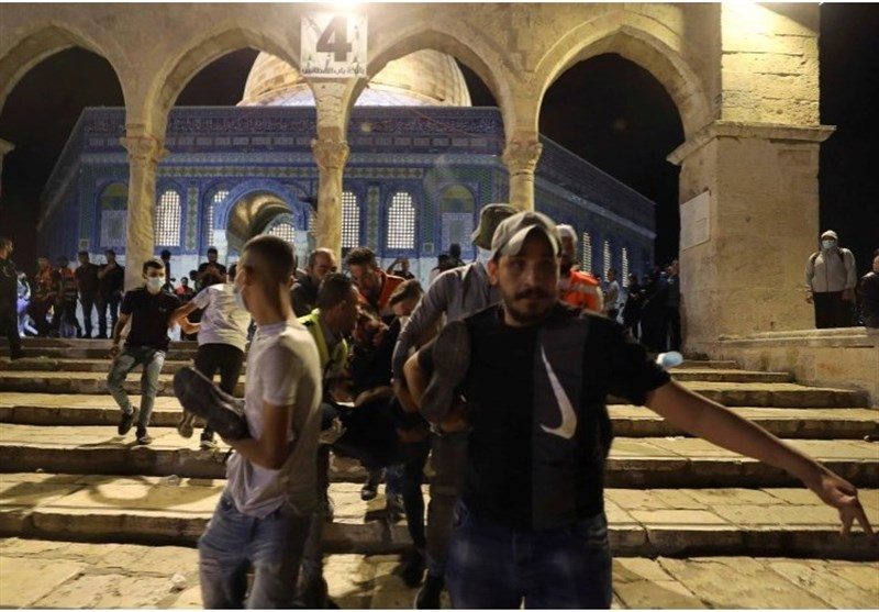 Iran Condemns Israeli Attack on Al-Aqsa Mosque Worshippers