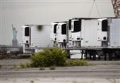آمریکا/ نگهداری اجساد بیماران کرونایی در سردخانههای موقت