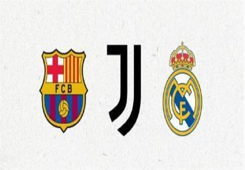 بیانیه مشترک یوونتوس، رئال مادرید و بارسلونا در واکنش به تهدید دوباره یوفا