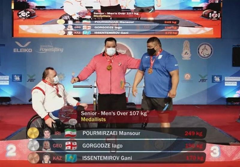 Iran Wins Three More Golds at World Para Powerlifting World Cup