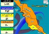 پیک چهارم کرونا با بوشهریها چه کرد؟