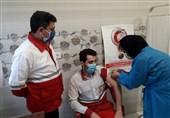 واکسیناسیون امدادگران و نجاتگران هلال احمر گلستان آغاز شد