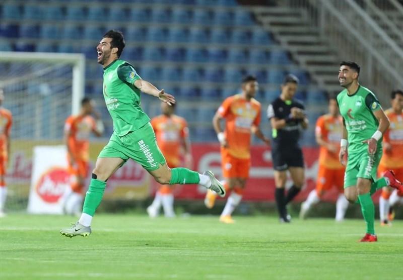 لیگ برتر فوتبال  برتری آلومینیوم و تساوی خودروییها در 45 دقیقه اول