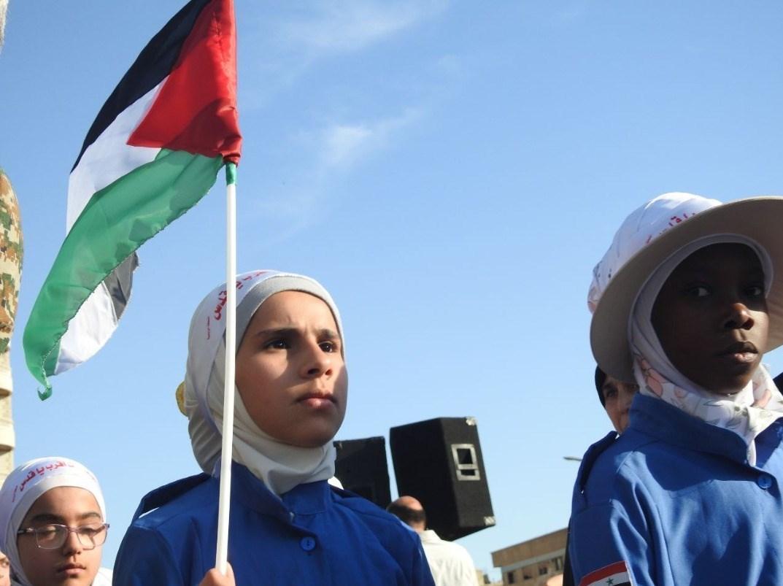 لشکر فاطمیون , مدافعان حرم , راهپیمایی روز قدس , کشور فلسطین , بیت المقدس , جبهه مقاومت اسلامی ,