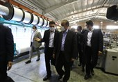 افتتاح خطوط توسعه دو واحد تولیدی در استان تهران