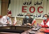 بودجه مدیریت بحران استان قزوین باید 3 برابر شود / لزوم واکسیناسیون کرونایی نیروهای هلالاحمر