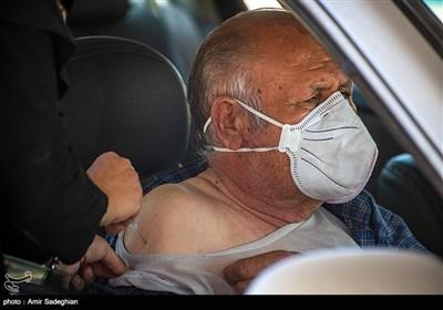 واکسیناسیون خودرویی در پارک کوهستانی دراک شیراز