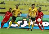 لیگ برتر فوتبال| تساوی، حاصل تلاش یک نیمهای پرسپولیس و سپاهان