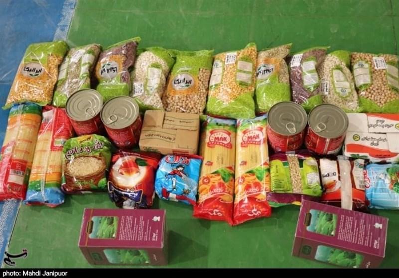تداوم توزیع بستههای معیشتی در استان خوزستان +تصاویر