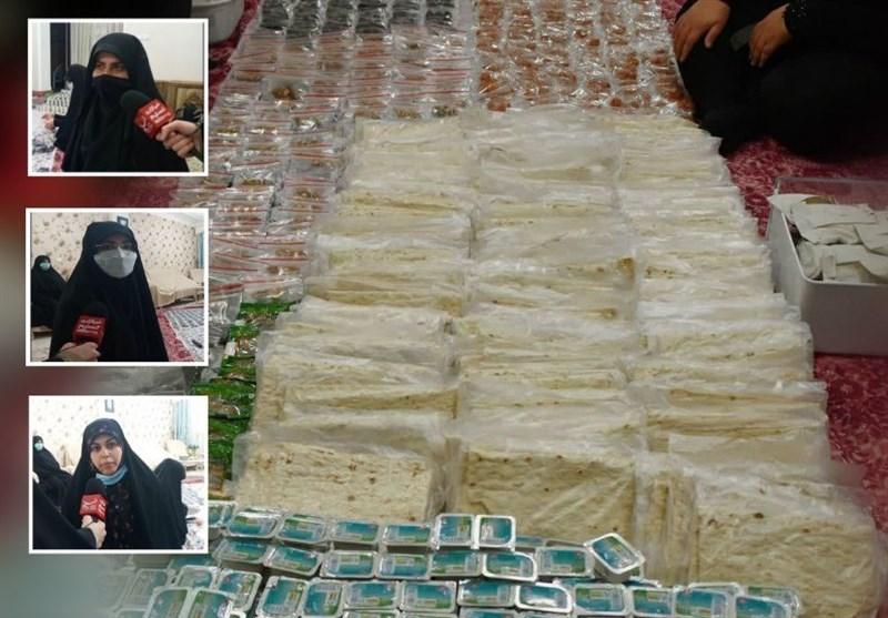 گزارش تسنیم از توزیع بستههای افطاری ساده بین نیازمندان در گیلان + فیلم