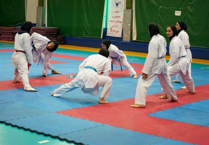 آغاز دور جدید اردو تیمهای ملی کاراته بانوان